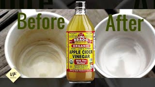30 VINEGAR HACKS THAT WILL SAVE YOU A FORTUNE
