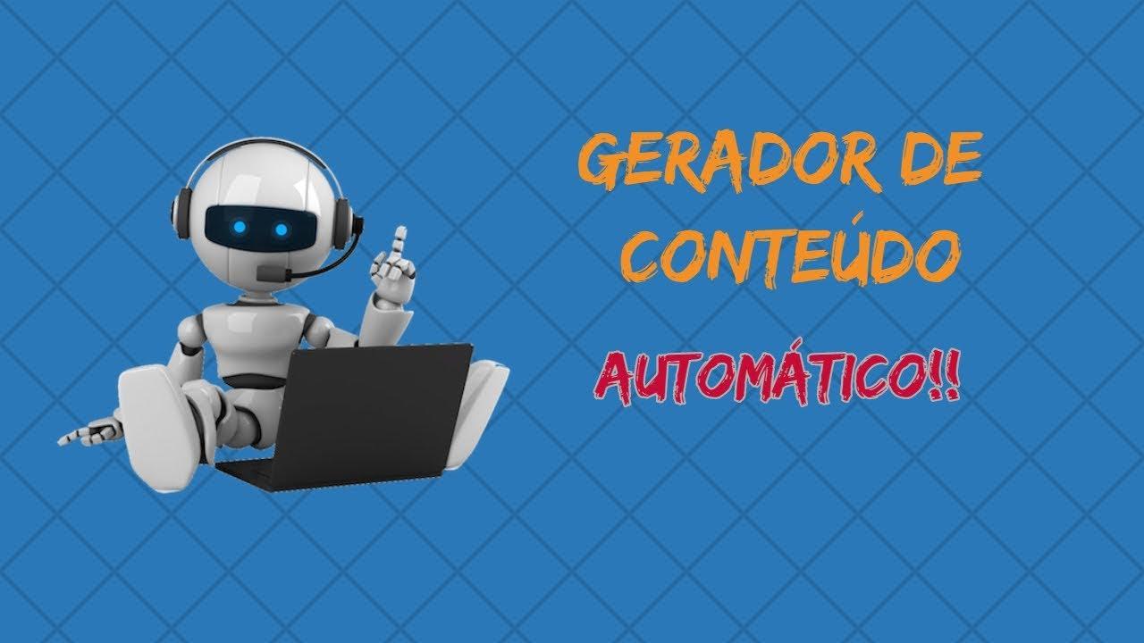 Download Gerador de Texto Automatico  - Como Instalar e Registrar o Gerador de Conteudo