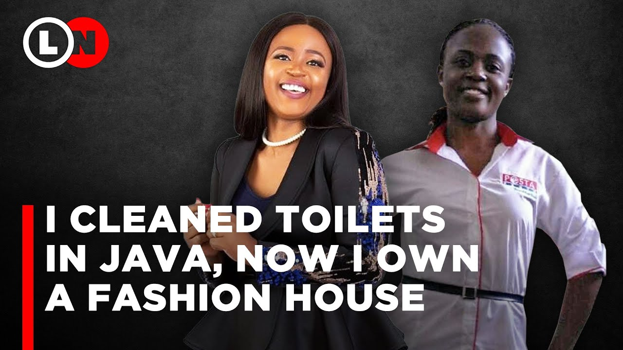 I cleaned toilets and washed dishes in Java, now I own a fashion house-Hellen Tolbert    Lynn Ngugi