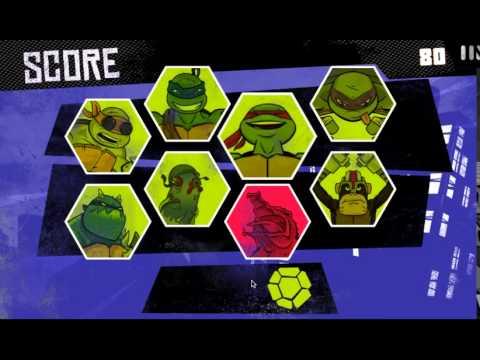 игра мультик черепашки мутанты ниндзя битва за нью йорк разные миссии # 2 лучшие игры HD