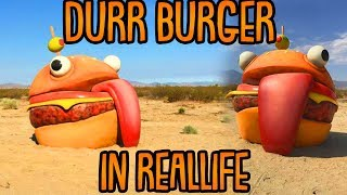 FORTNITE BURGER in REALLIFE gefunden! | (Geheimnis der Season 5) | Fortnite Battle Royale