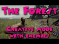 The Forest - Creative mode with enemies
