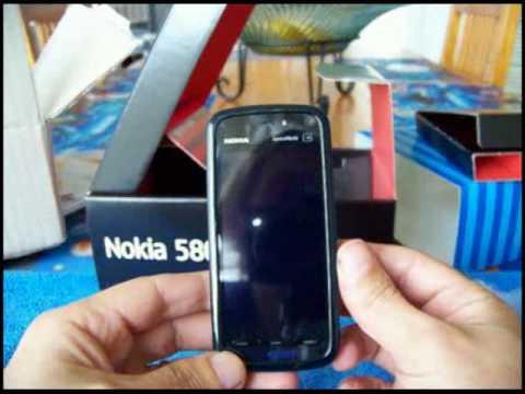 Nokia 5800 Express unboxing