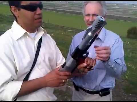 Pistola BMG calibre.50  Rifle Shell