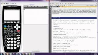 calculating p values ti 84