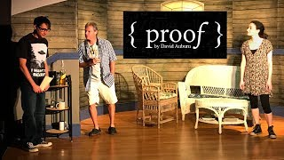 { Proof } A play by David Auburn