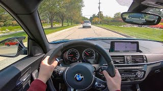 2020 BMW M2 Competition (DCT) - POV Test Drive (Binaural Audio)