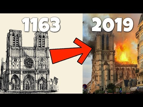 How 1 Error Set The 800 Year-Old Notre-Dame Cathedral On Fire