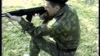 Изготовка для стрельбы с колена АК