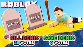Roblox Adventures - DON'T GET VOTED TO DIE IN ROBLOX! (Survivor Beta)