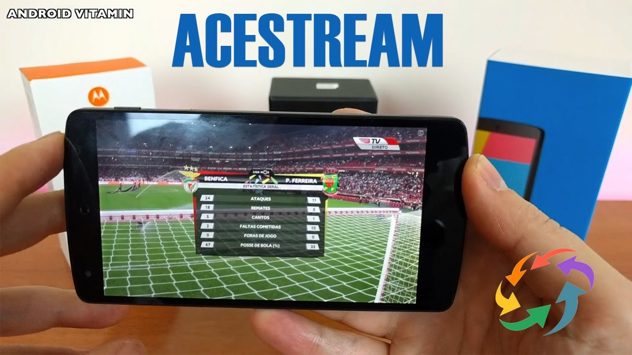 TV Acestream Arena4viewer no teu Android