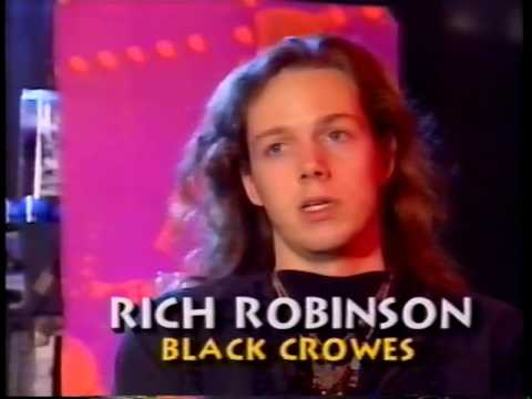 The Black Crowes Moscow Music Fest Interview 9/27/91, 11/18/91 News, 92 Mark Ford Joins, 1992 Studio