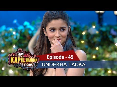 Undekha Tadka - Ep 45 - Alia Bhatt & Varun Dhawan - The Kapil Sharma Show