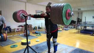 Клоков Дмитрий 250 кг