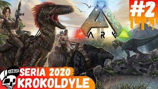 Oswajamy Potężnego Krokodyla w ARK Survival Evolved PL | Seria 2020 #2 - Rizzer