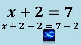 1. Ecuaciones: ¿Por qué se pasa sumando o restando? (Expli...