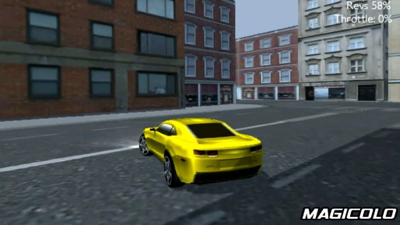 3D Sport Car Simulator   Android Games 2014
