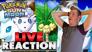 Pokémon Sun & Moon - LIVE Reaction to INSANE New Gameplay! (Alolan Variants + Z-Moves Confirmed!)