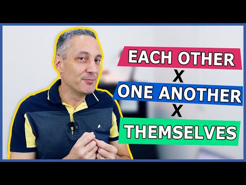 Diferença entre EACH OTHER x ONE ANOTHER x THEMSELVES | Pronomes em inglês
