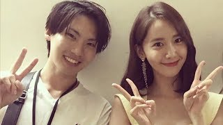 yoonA Cute Lovely Time on backstage @ fan meeting tours  in japan