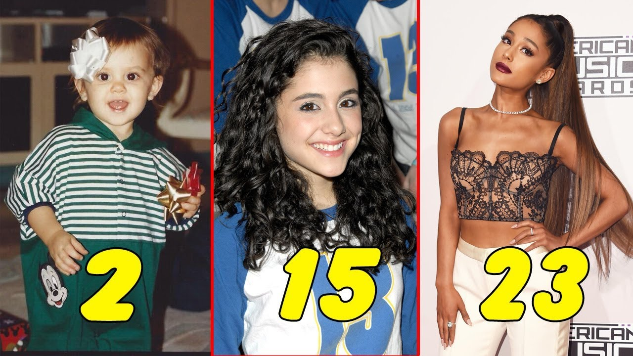 Ariana Grande ❤ From Baby To Adult - Star News