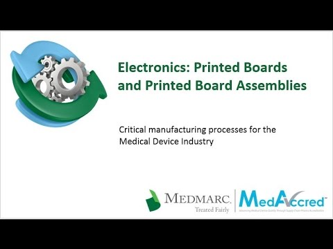 Critical Manufacturing Processes Series - Electronics: PCBAs and PCBs