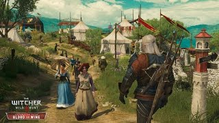 The Witcher 3 Blood And Wine Gameplay GTX 970 Max Setting 1080p 60 fps