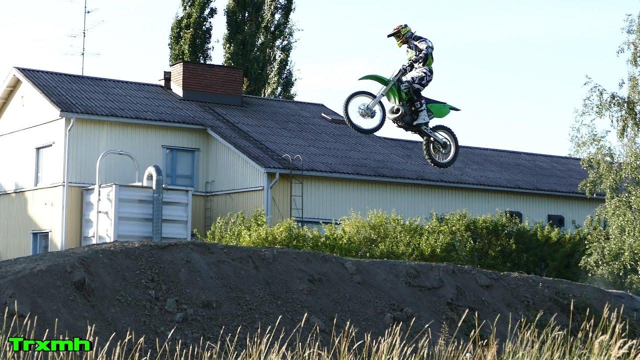 KX250 Short Jump Test 2021