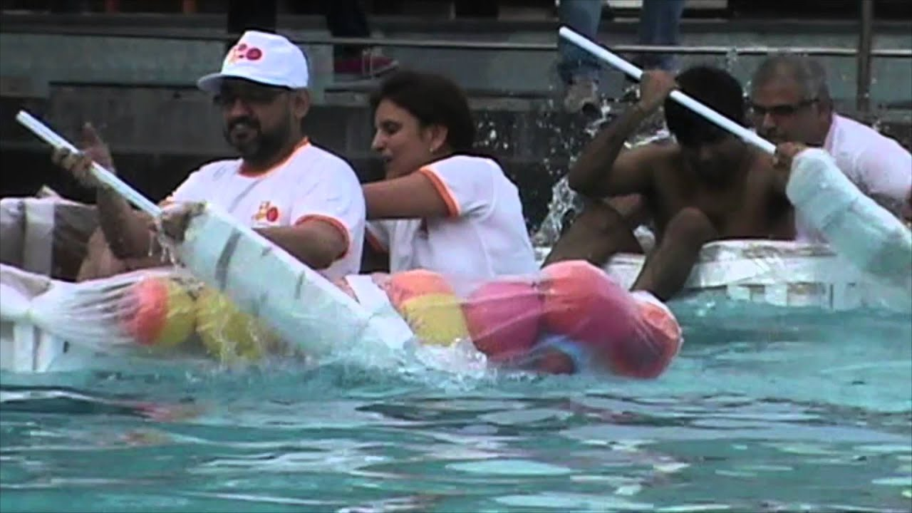 Build A Boat Challenge - FOCUS Adventure India - YouTube