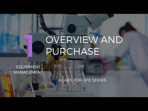 Equipment Management Overview And Purchase