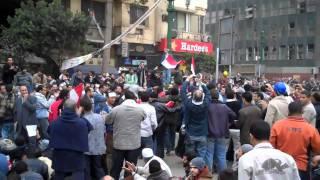 كلمة حلوة وكلمتين من ميدان التحرير
