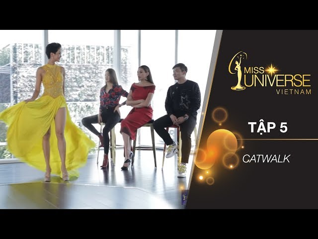 H'HEN NIE PRACTICES CATWALK IN NATIONAL COSTUMES AND EVENING GOWNS (ENGSUB) | RTMU EP 5 | FULL HD