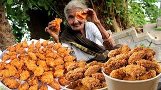 Granny's KFC CHICKEN RECIPE | KFC CHICKEN BY 100 YEARS OLD GRANDMA