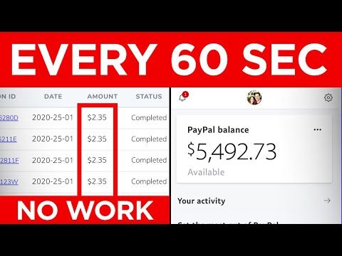 Earn $2.35 EVERY 60 Seconds! (FREE PayPal Money Trick)