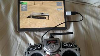 Fpv freerider on android With taranis x9d