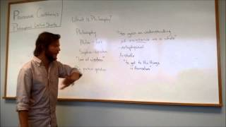 What is Philosophy? Part 1