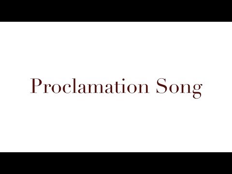 Proclamation Song (Lyric Video) | Lize Wiid & Sarah Jubilee | Trumpets To Tabernacle