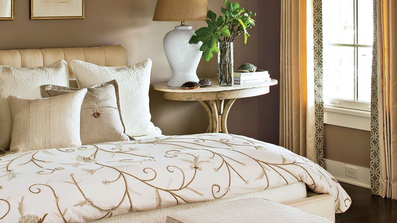 Southern Living Bedroom How To Make The Perfect Bed Southern Living Youtube