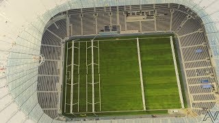 08/10/18 Tottenham Hotspur New Stadium The Pitch is in 4K