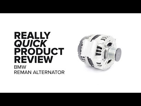 Bosch Re-manufactured Alternator (BMW) - Highlights, Features & Product Review