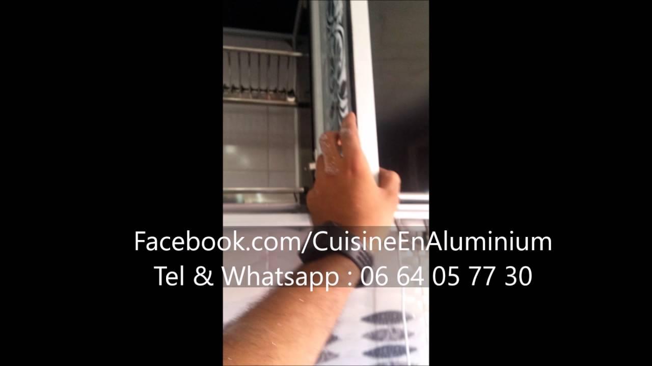 Cuisine En Aluminium Noir Youtube