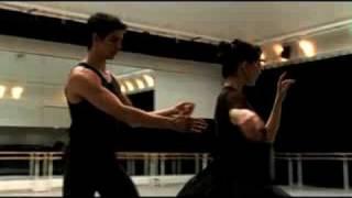 Tamara Rojo rehearses Swan Lake