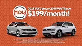 Hoy Volkswagen $199 month Jetta & Tiguan March 2018 Special