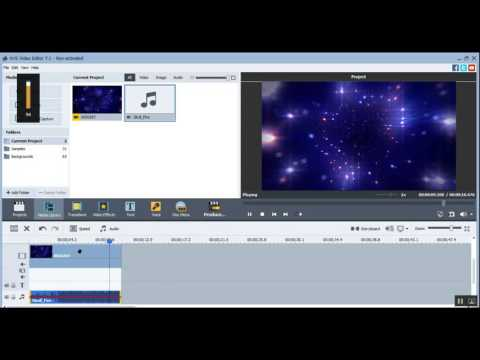 How to make cool intro in AVS Video Editor - hindi tutorials-attractive video