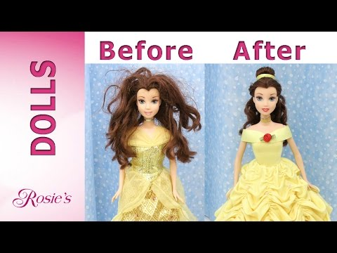 Beauty and The Beast: Belle's Makeover Part 3 - Yellow Dress
