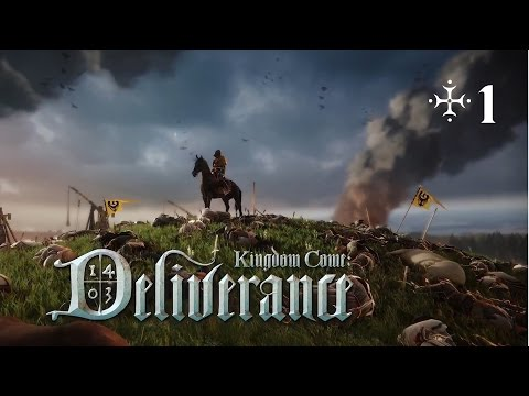 Kingdom Come: Deliverance - Episode 1 - Basic Gameplay and sword training