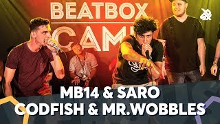 MB14 & SARO VS CODFISH & MR.WOBBLES | WBC TAG TEAM BATTLE | Final