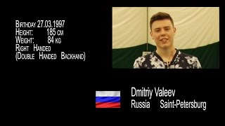 Tennis Recruiting Video Dmitriy Valeev 2017