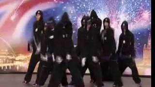 diversity s first audition in britains got talent 2009