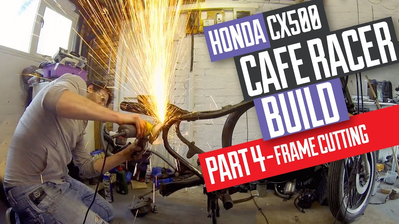 Honda CX500 Cafe Racer Build 4